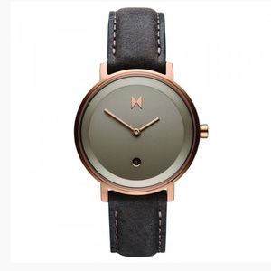 MVMT Signature 2 Collection Rose Gold Brown Watch